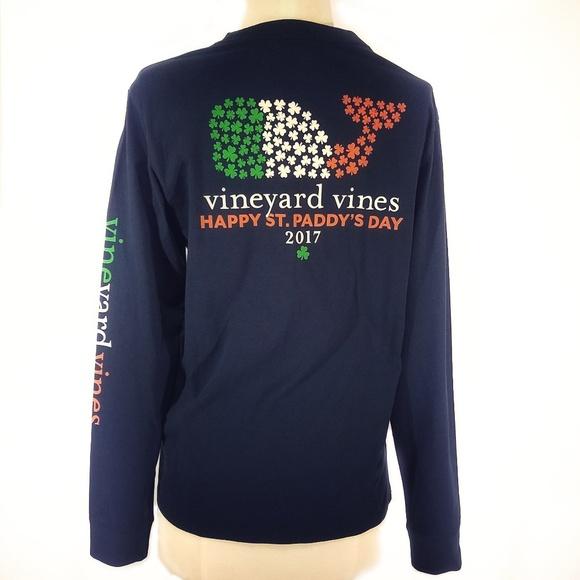 2ae458c48 Vineyard Vines St Patrick's Day Long sleeve shirt.  M_5c7804eaa5d7c65c03d1e195